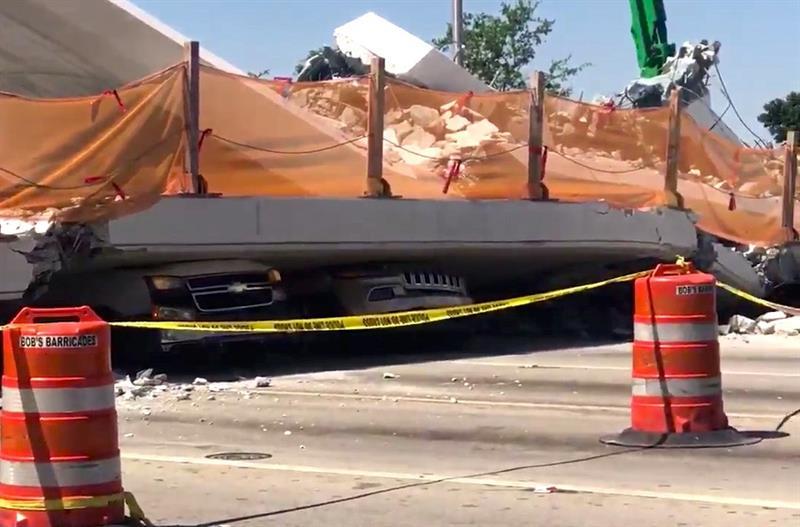 Demandan por negligencia a las constructoras del puente desplomado en Miami .jpg