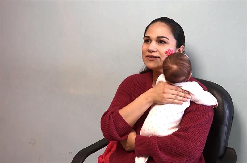 Amanda, recién nacida que sobrevivió ante todo pronóstico a tumor de 2,5 kilos .jpg