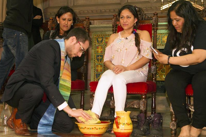 Guatemalteca se refugia en una iglesia de Nueva York para no ser deportada .jpg