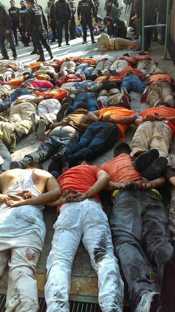 Un motín carcelario deja siete muertos en el violento estado mexicano de Veracruz .jpg