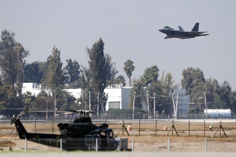 El F-35 Lightning II llega por primera vez a América Latina en el marco de la Fidae .jpg