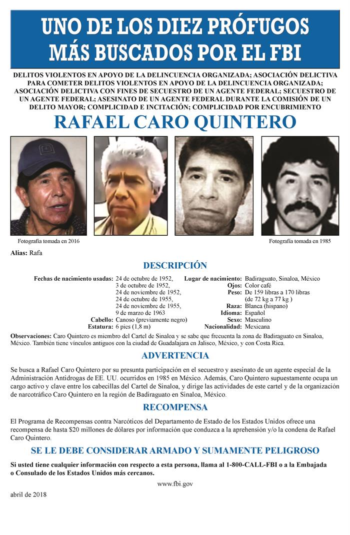 EE.UU. refuerza la búsqueda del narco mexicano Caro Quintero con nuevos cargos .jpg