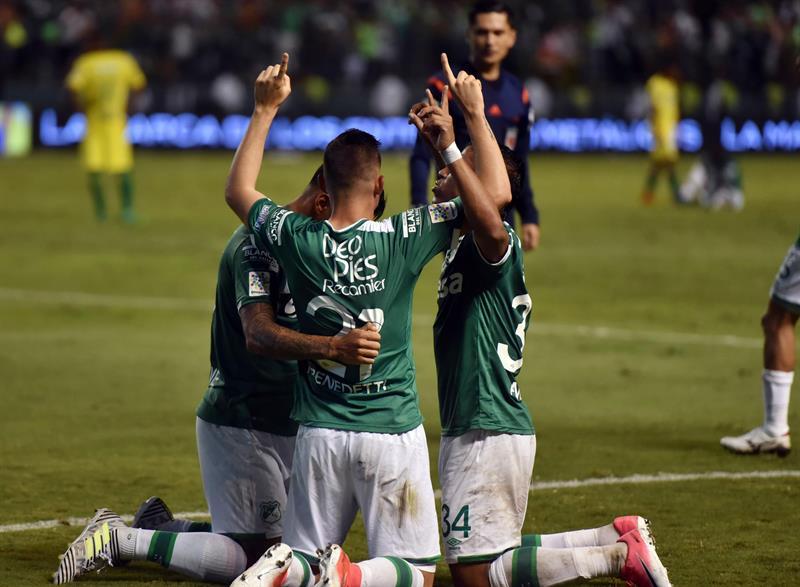 América le gana 2-1 al Cali en una fecha en la que uruguayo Pérez deja a Santa Fe .jpg