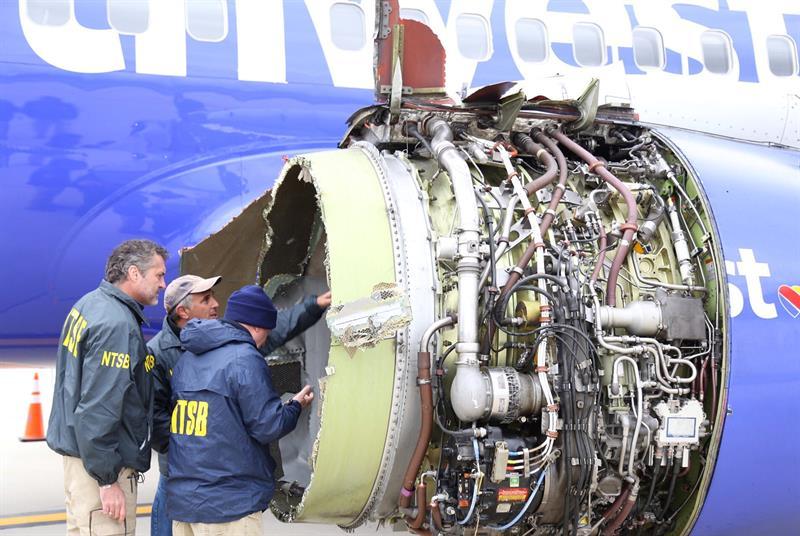 Confirman un muerto en el aterrizaje de emergencia de un avión en Filadelfia (EE.UU.) .jpg