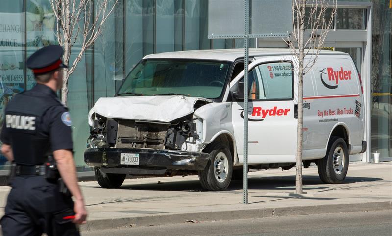 Canadá investiga las posibles conexiones terroristas del atropello en Toronto (Canadá) .jpg