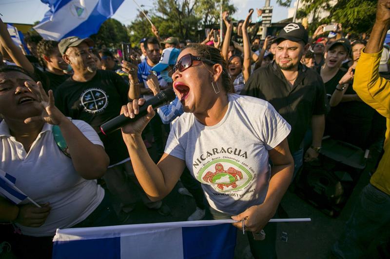 Miles demuestran su hartazgo contra el Gobierno de Daniel Ortega en Nicaragua 2.jpg