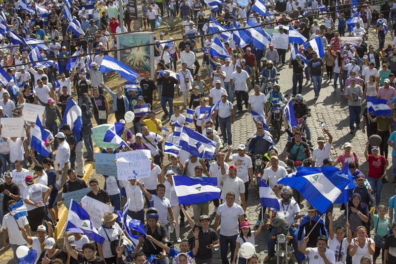 Miles demuestran su hartazgo contra el Gobierno de Daniel Ortega en Nicaragua 3.jpg