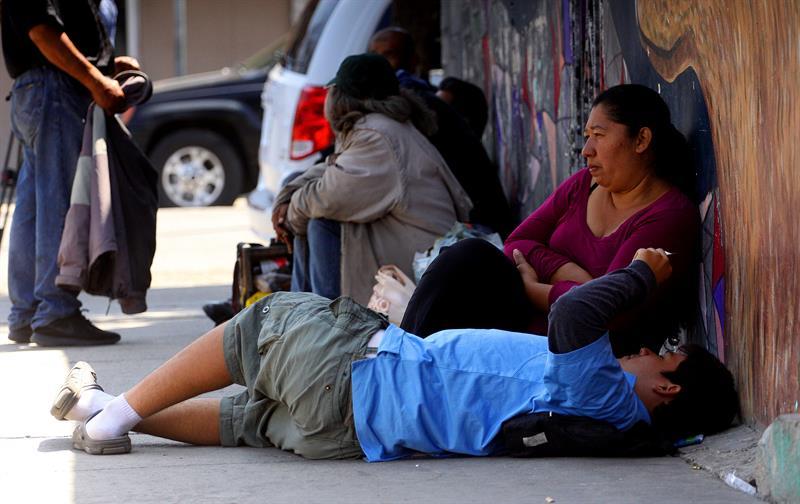 Migrantes de caravana se toman un respiro en frontera de México con EEUU .jpg