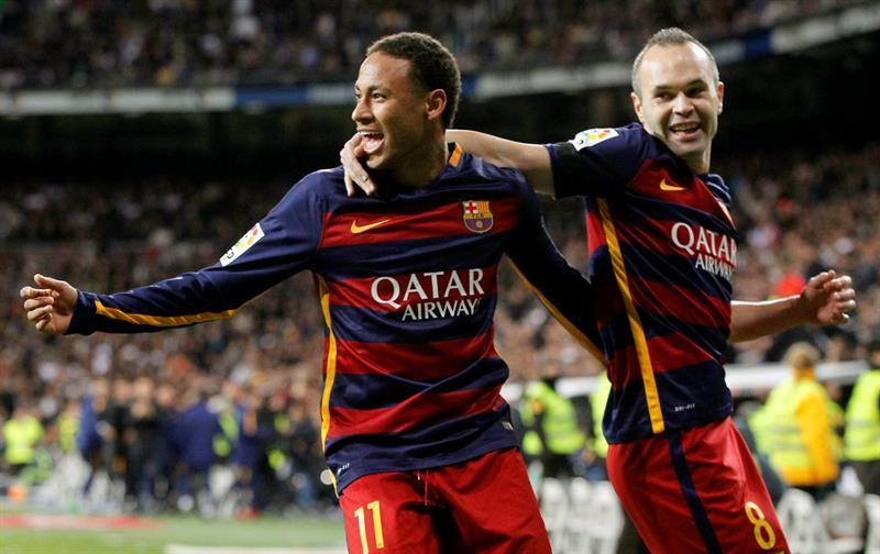 Neymar a Iniesta - %22Me enamoré de tu fútbol y mucho más de la persona%22 .jpg
