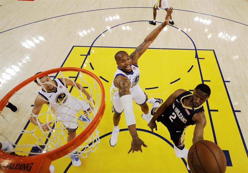 Warriors, exhibición ante Pelicans; Celtics serán rivales de Sixers .jpg