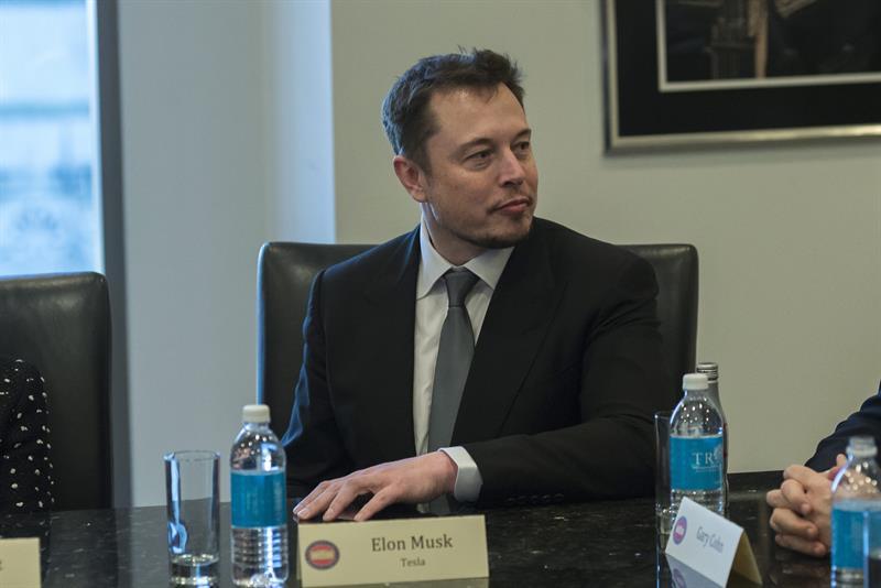 Imagen de archivo del fundador de la compañía automovilística Tesla, Elon Musk
