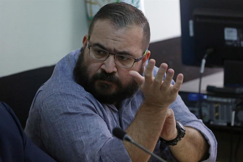 Fotografía de archivo del exgobernador del estado mexicano de Veracruz, Javier Duarte