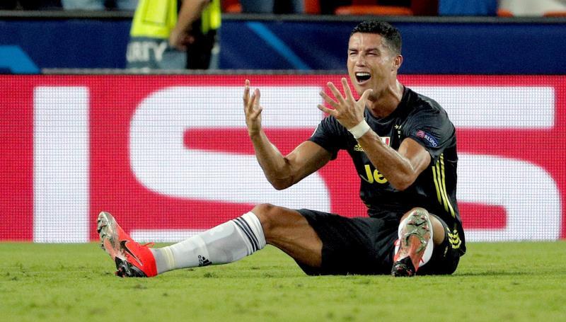 El delantero portugués de la Juventus, Cristiano Ronaldo.