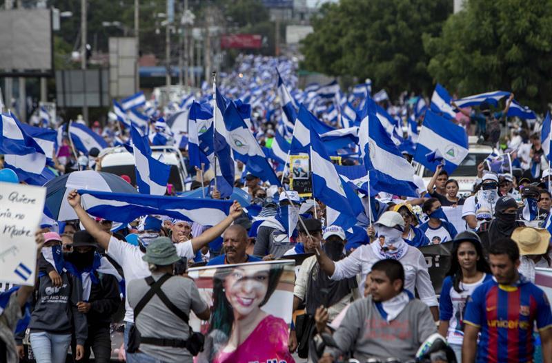 """La oficina del Alto Comisionado de la Naciones Unidas para los Derechos Humanos (Acnudh) ha responsabilizado al Gobierno de Ortega por """"más de 300 muertos"""", ejecuciones extrajudiciales, torturas, obstrucción a la atención médica, detenciones arbitrarias, secuestros, violencia sexual, entre otras violaciones a los derechos humanos, durante las protestas."""