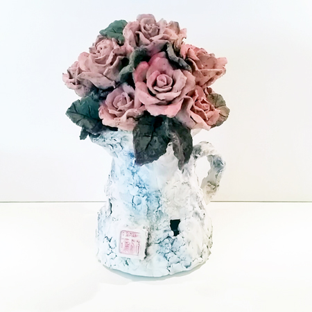 Jar with Roses