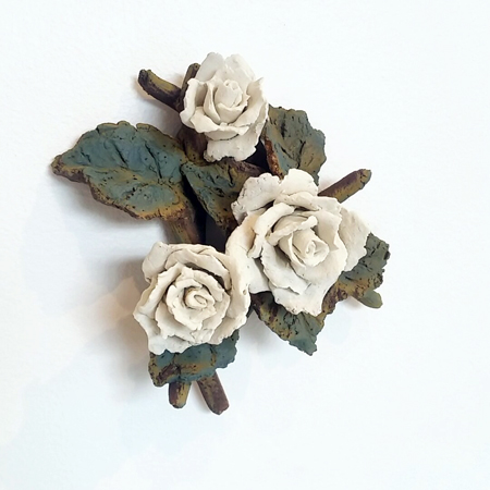 Three Roses on the Wall