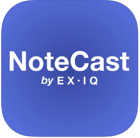 NoteCast-exiq-app-logo-FWTR