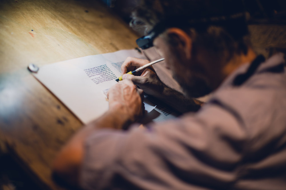 Writing the Torah