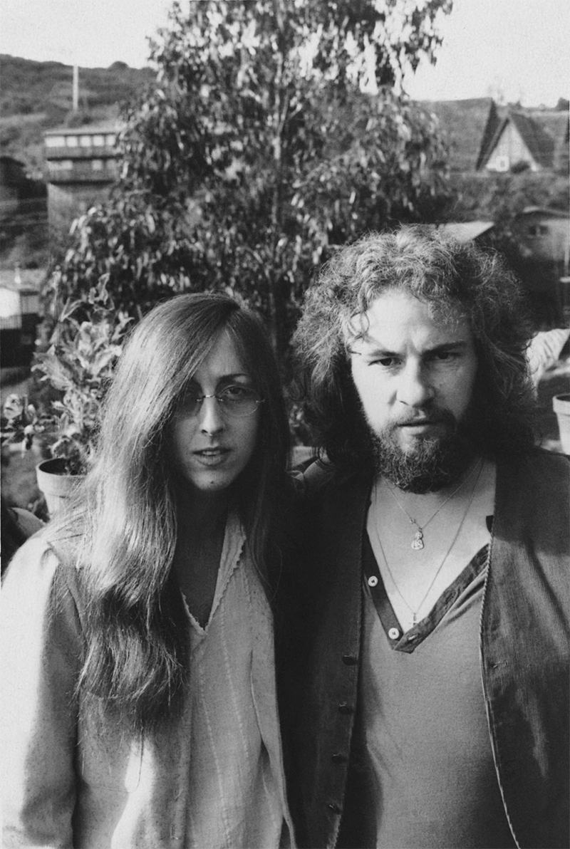 Judee Sill & David Bearden, Mill Valley, CA, 1973 Photograph by James Bearden