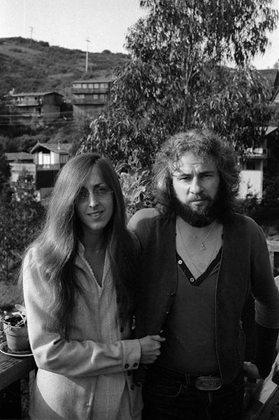 Judee Sill & David, 1973