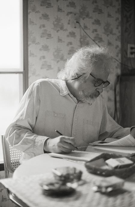 David writting, 1992