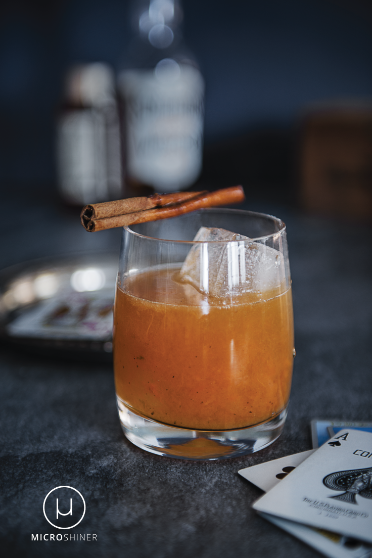 Old Fashioned cocktail made with craft spirits from Van Brunt Stillhouse