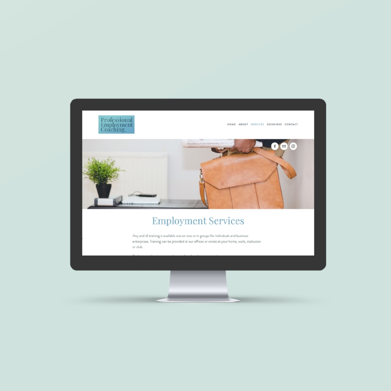 Squarespace website help in Melbourne
