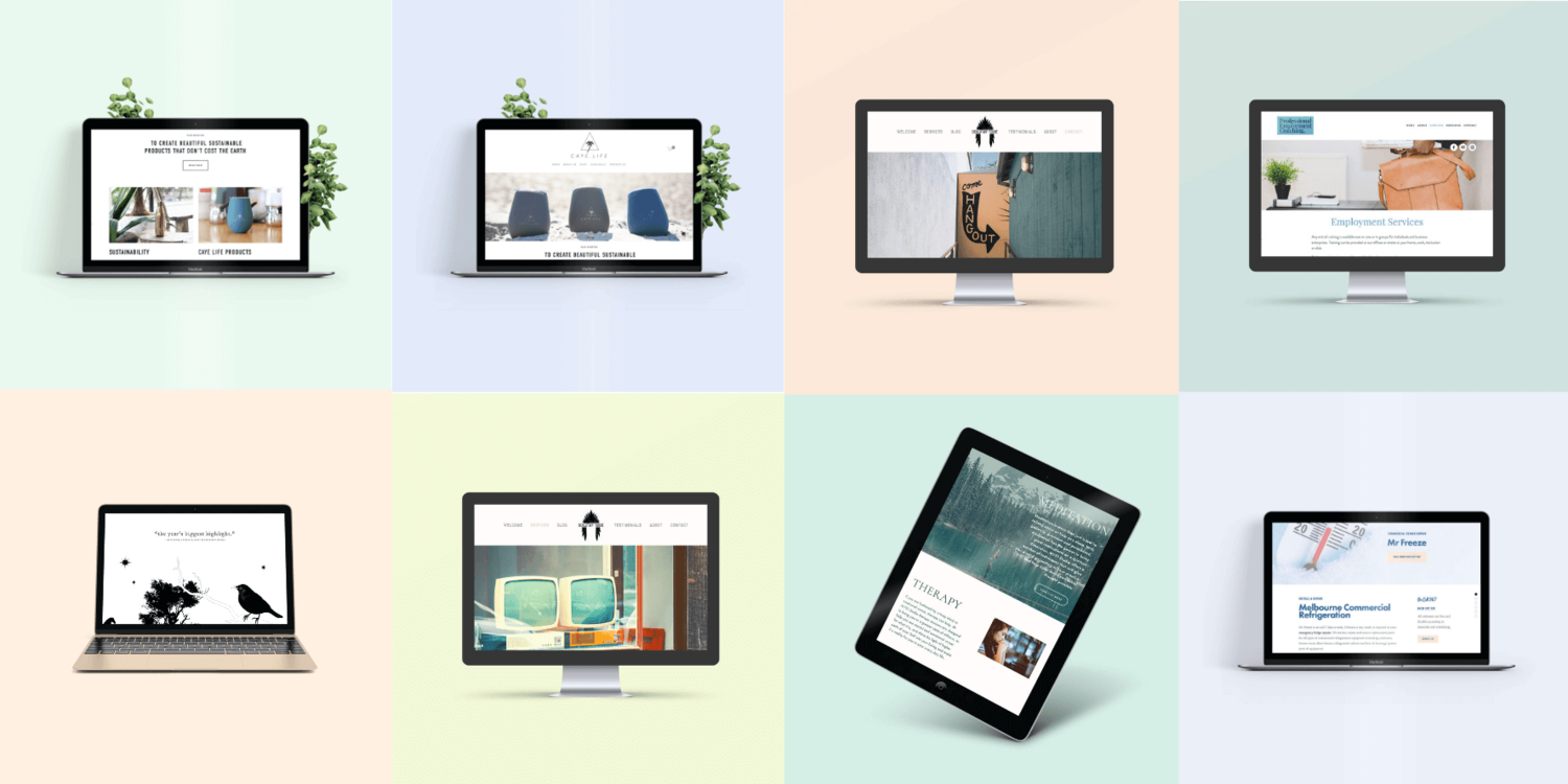 Stylish Squarespace Website Design • Australian Designers