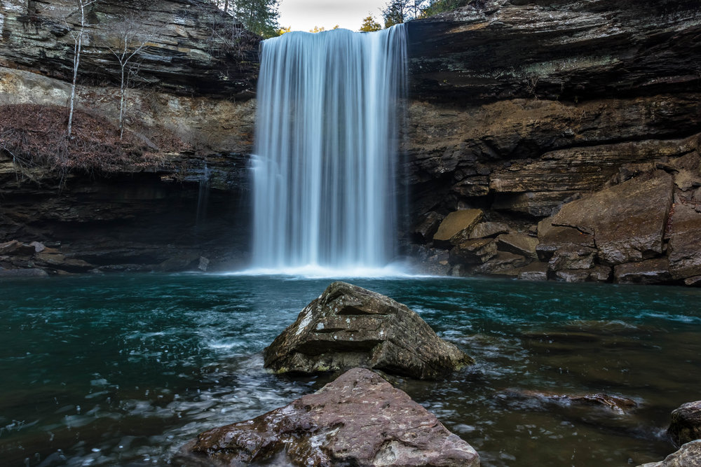 Foster Falls: South Cumberland State Park, Tennessee