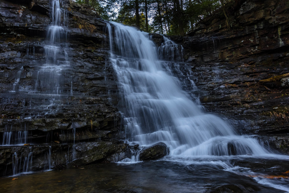 Greeter Falls: South Cumberland State Park, Tennessee