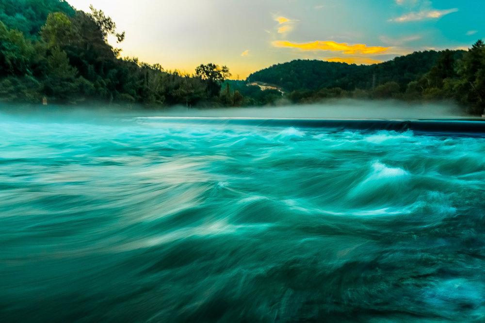 Weir Dam, Norris Tennessee
