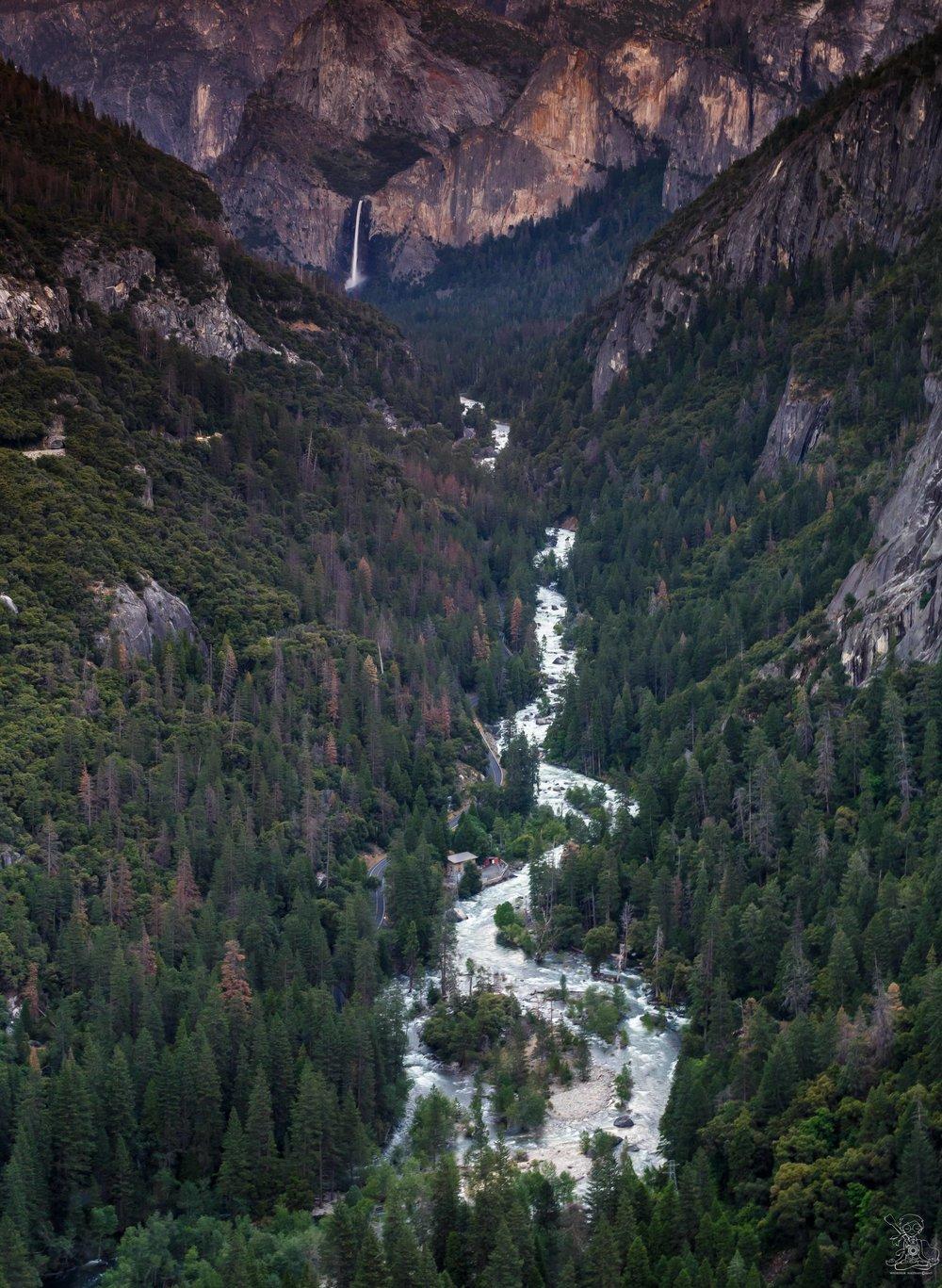 Bridal Falls at Yosemite