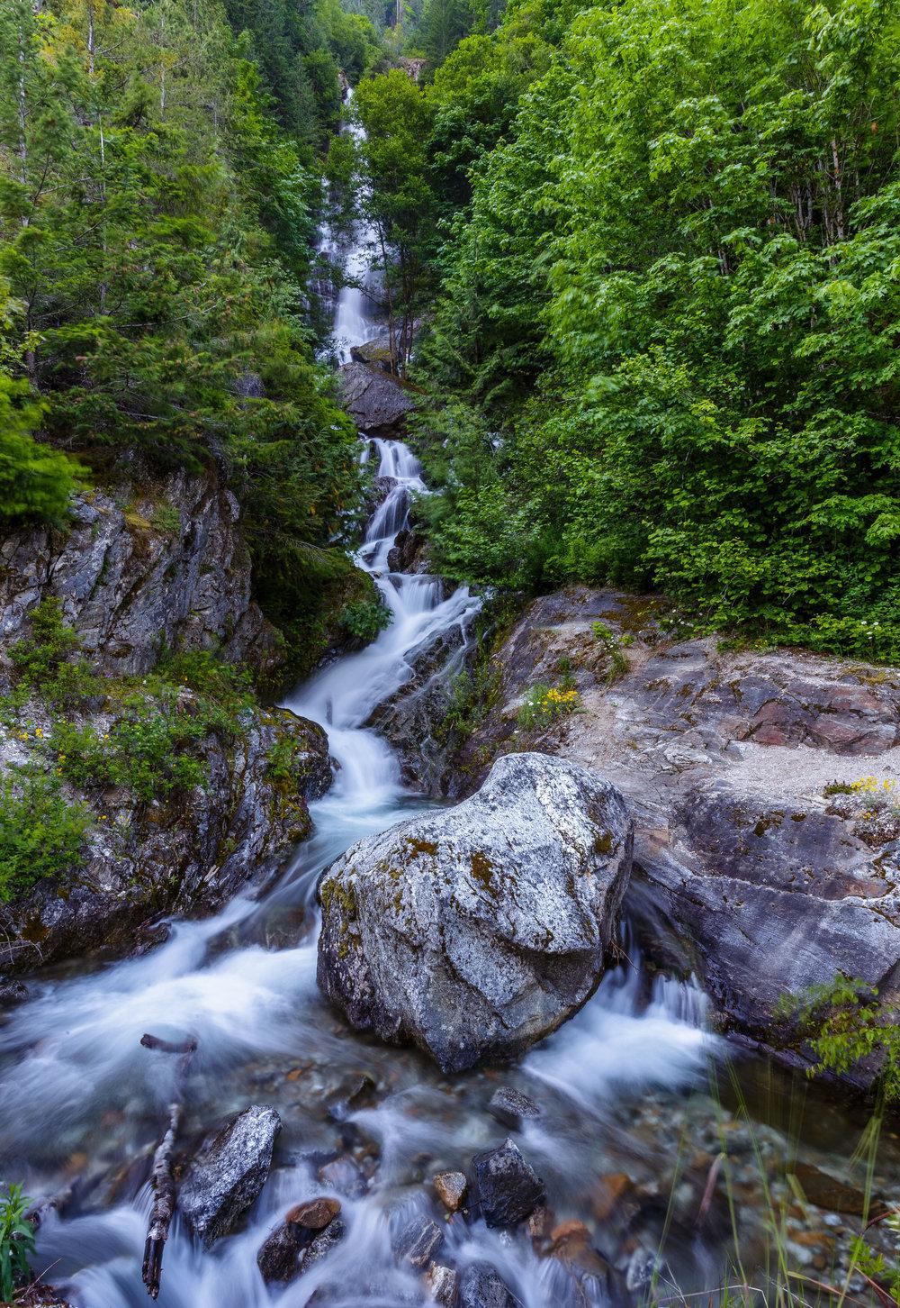 North Cascades National Park Waterfalls