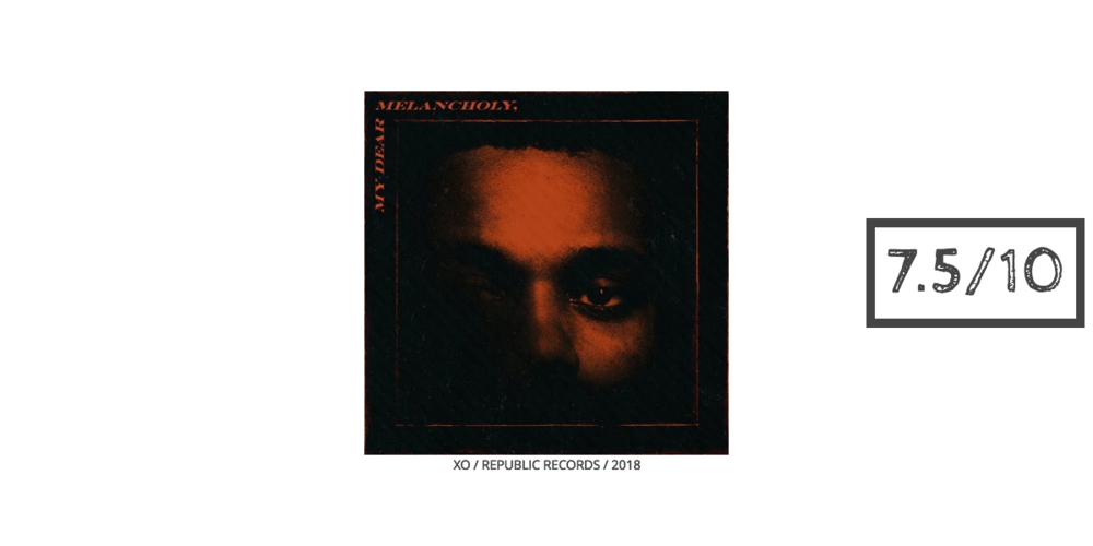 The Weeknd My Dear Melancholy Review Art