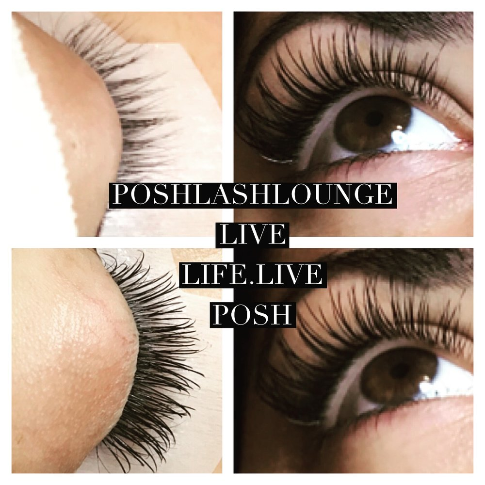 Lash Service Menu Posh Lash Lounge Beauty Bar