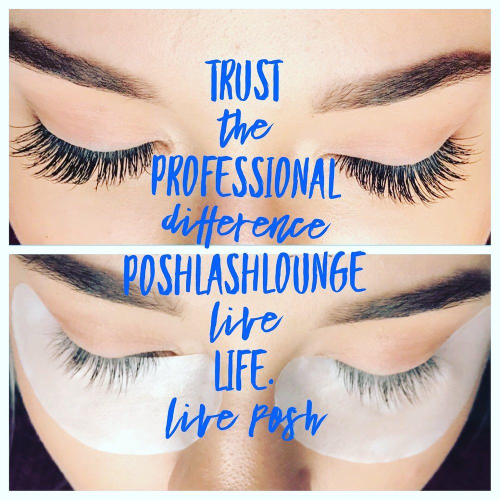 Trust the Professional Difference at Posh Lash Lounge