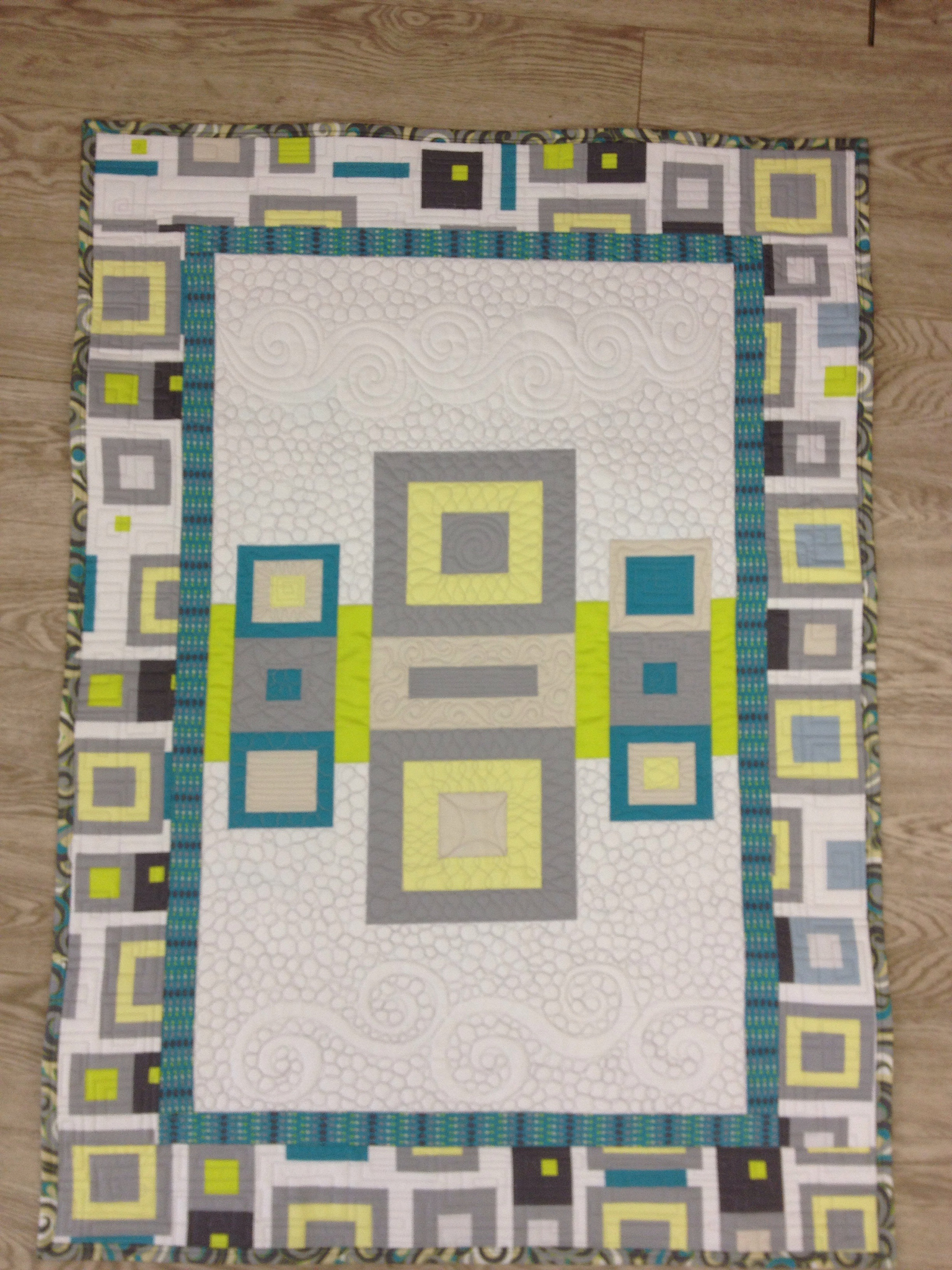 Textures Panel Quilt