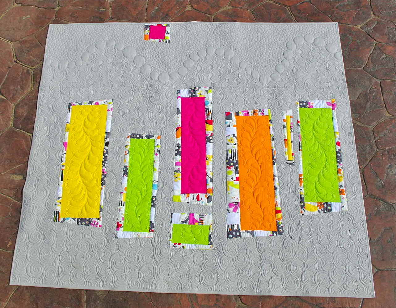 Colour Blocks Quilt