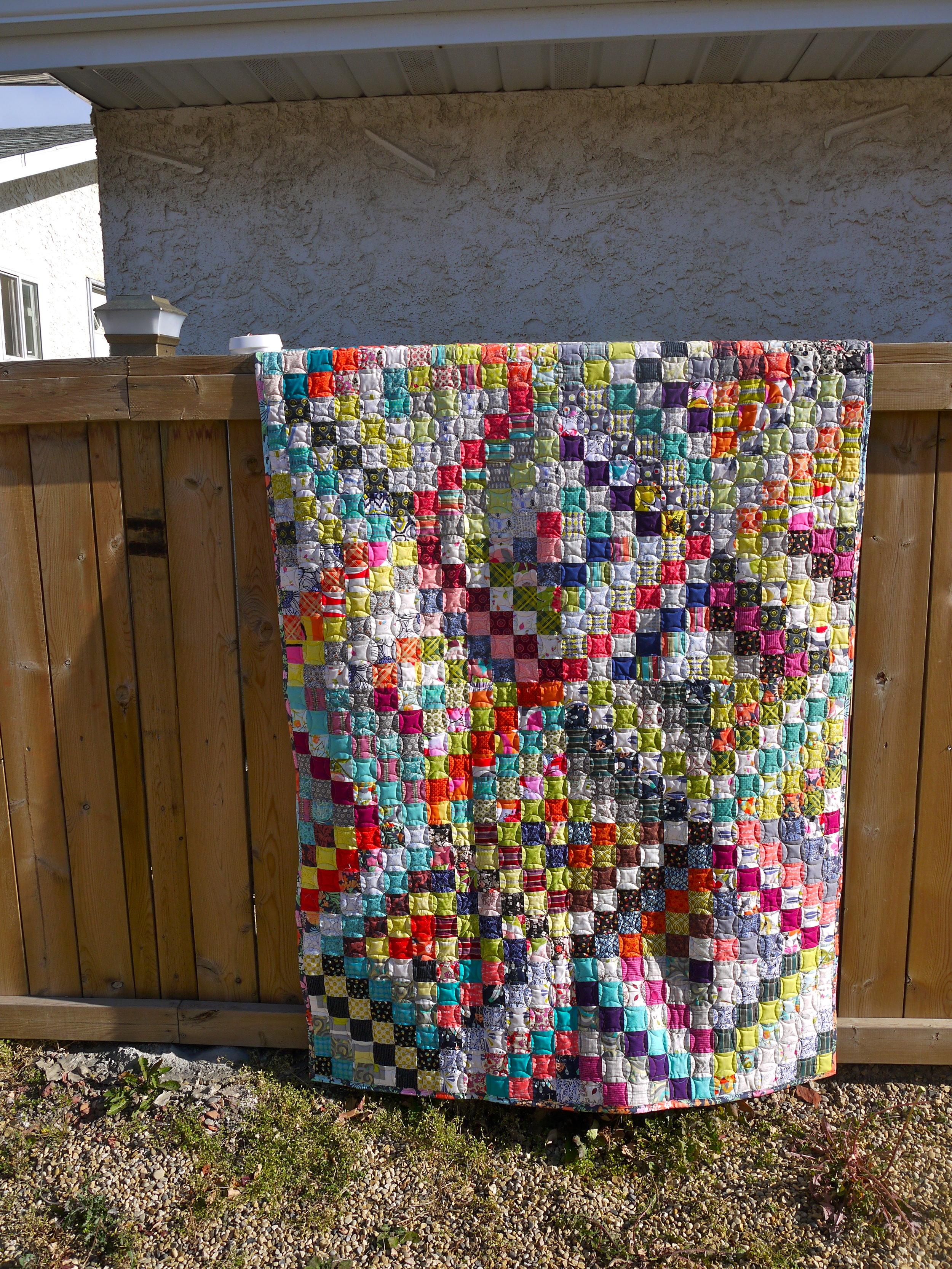 Helen's Housewarming Quilt
