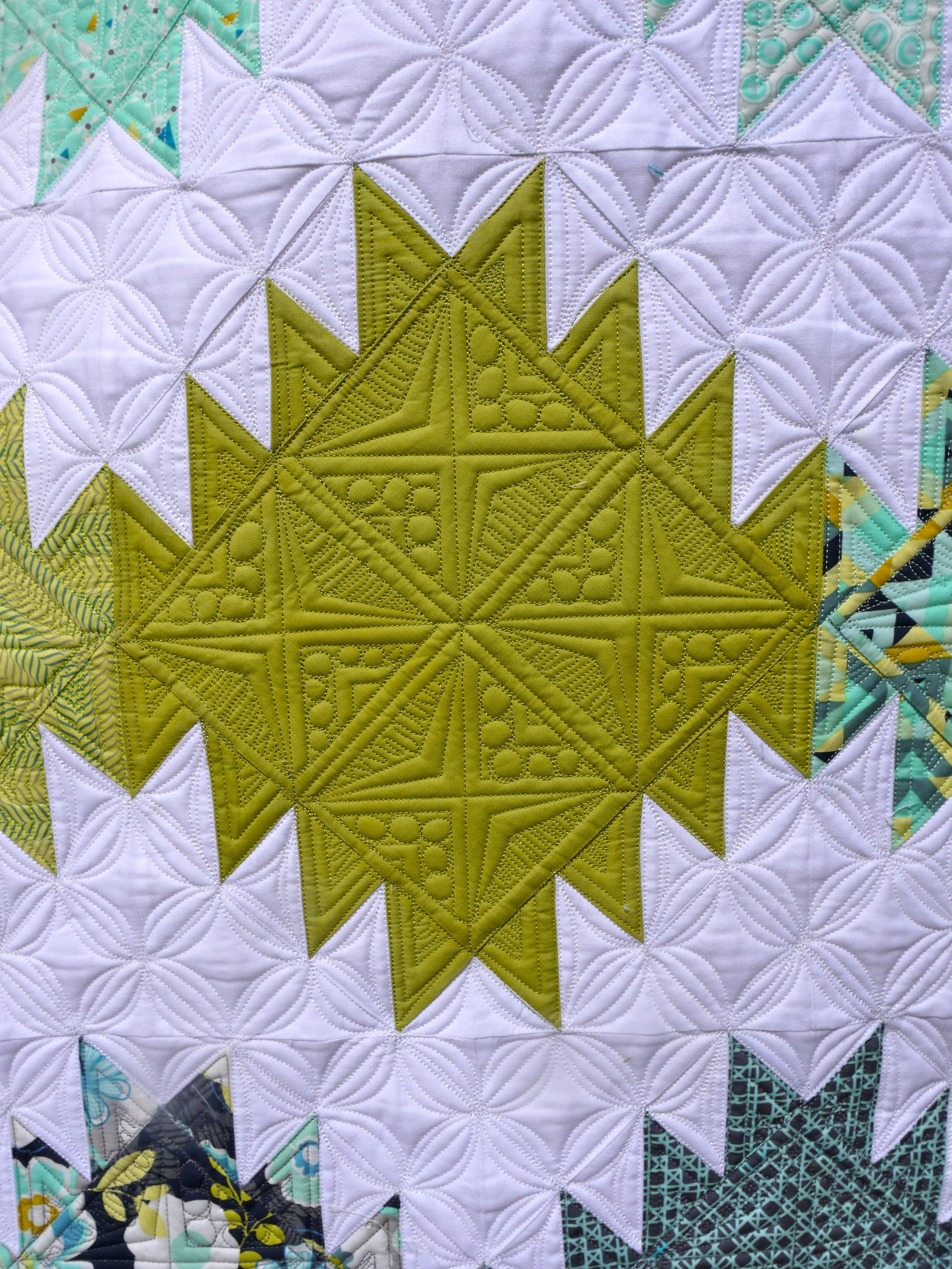 Quilting Super Close Up