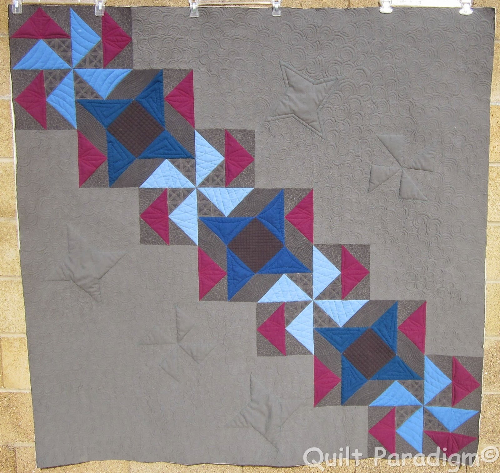 Judy's Quilted Quilt