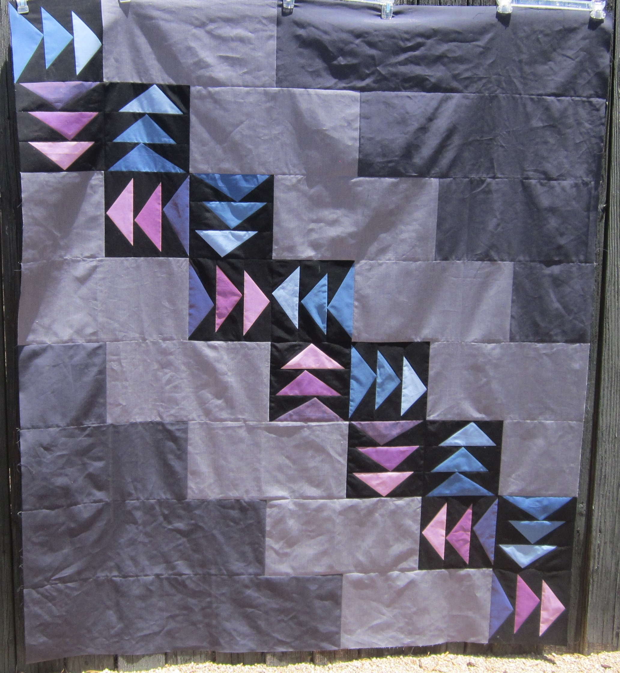 Judy's Geese Quilt