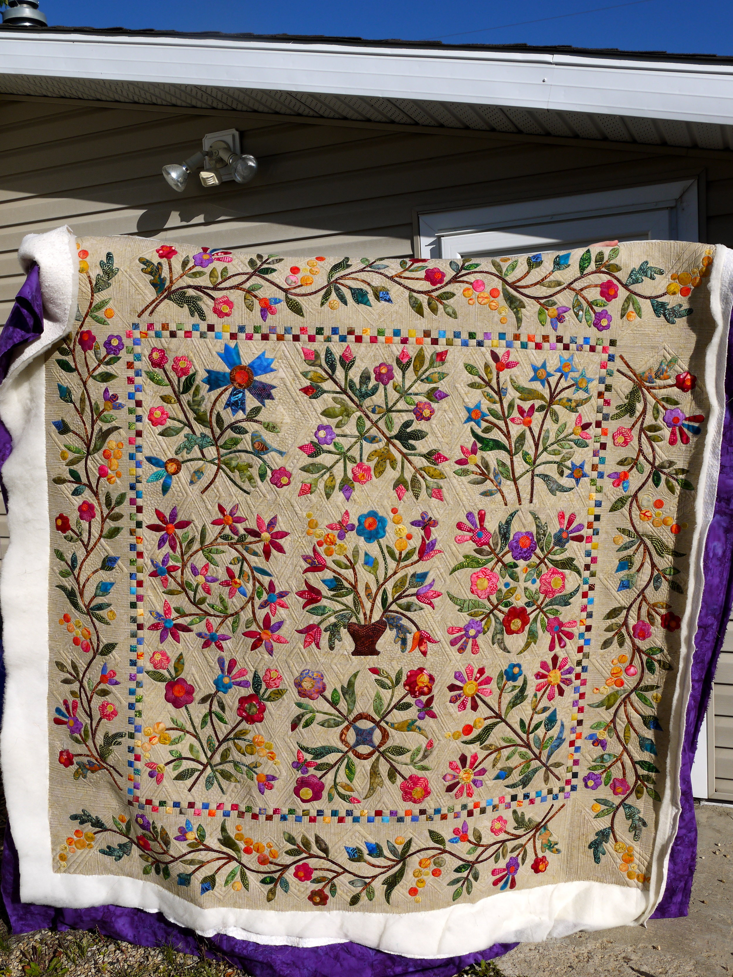 Spring Bouquet Or How I Spent This Month Kathleen Quilts