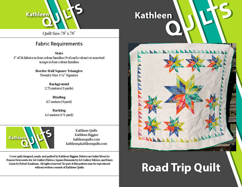Road Trip Quilt Cover