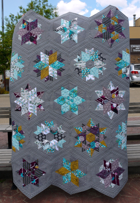 Indelible Park Bench Quilt