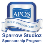 Free Motion Friday is Sponsored by Sparrow Studioz and APQS Canada!