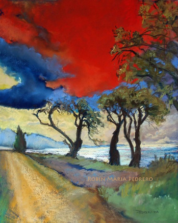 Landscapes     Works of art created in either soft pastel, acrylic or mixed media