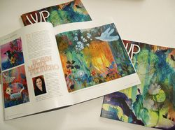 Winter Park Magazine - Cover Artist Feature