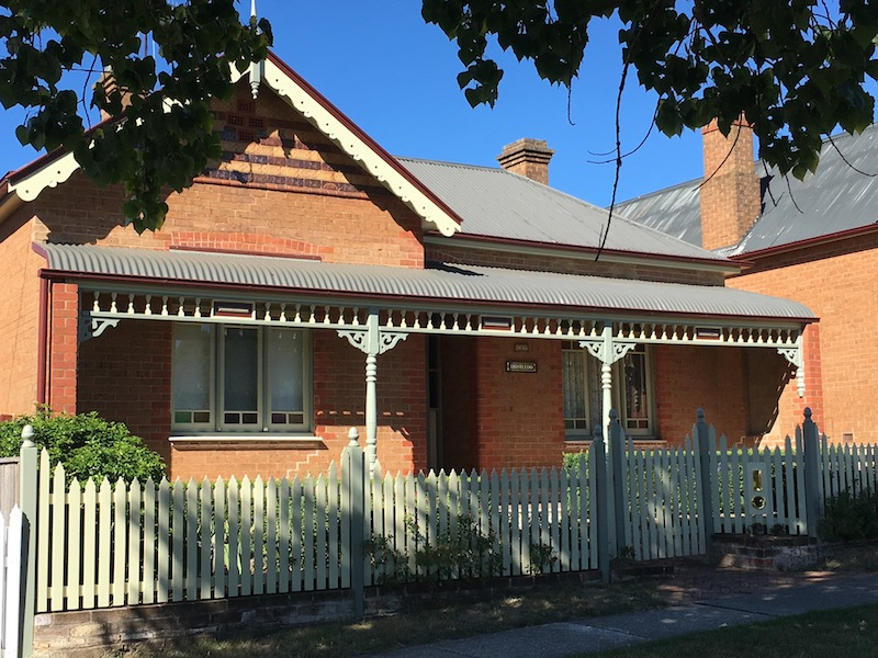 John Thistleton and his wife have sold their Goulburn home to be closer to their family