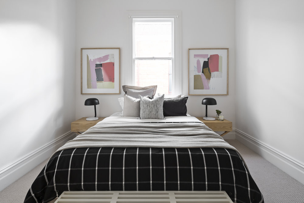 147 Easey Street Collingwood (after): could you sleep easy here?